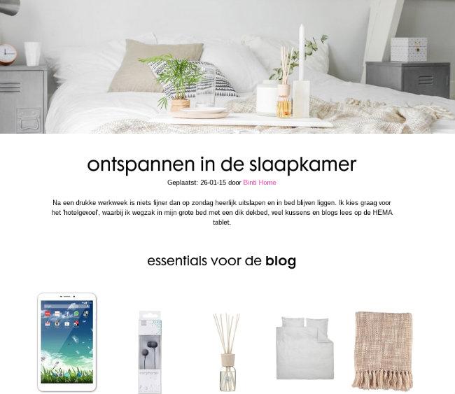 hema blog ontspannen essentials