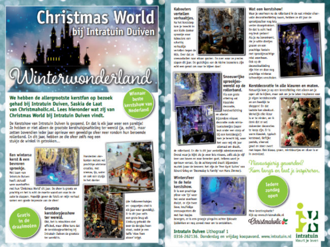 collage christmas world duiven