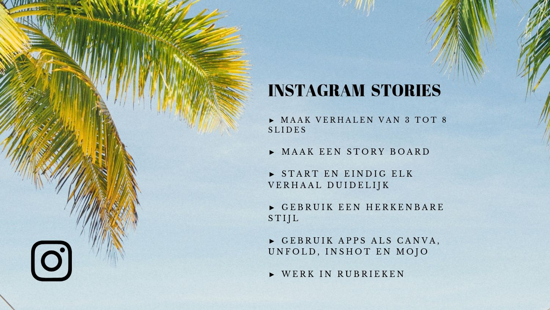Instagram stories tips voor ondernemers